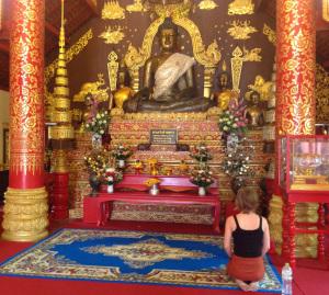 Buddha in Chaing Rai, Thailand