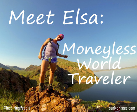 meet elsa moneyless traveler